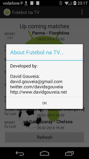 Foto do Futebol na TV