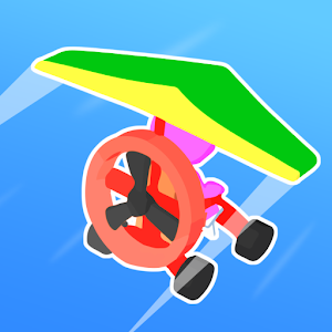 Road Glider  Incredible Flying Game