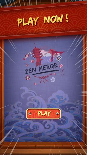 Zen Merge - Drag n Merge Block Game  screenshots 4