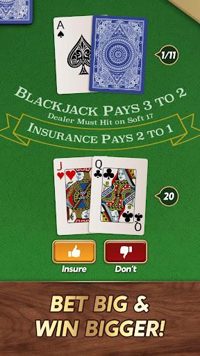 Blackjack 1.7.1 screenshots 2