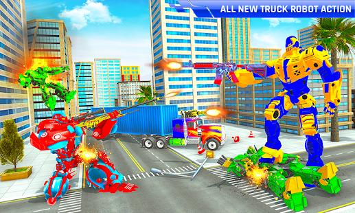 Police Truck Transform Robot 51 Screenshots 2