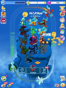 Dragons Evolution Mod Apk- Best Merge Idler (All Boost Active) 7