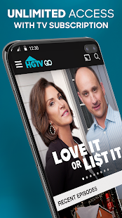 HGTV GO - Watch with TV Subscription