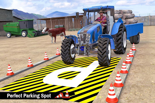 Tractor Trolley Parking Drive - Drive Parking Game 2.6 Screenshots 1