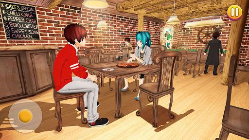YUMI High School Simulator: Anime Girl Games  screenshots 14