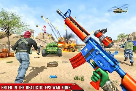 FPS Commando Shooting Mission: New Shooting Games 1