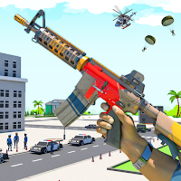 FPS Block Gun PVP War: Battle Craft Shooting Games