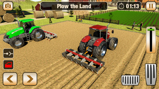 Real Tractor Driving Games- Tractor Games 1.0.14 screenshots 19