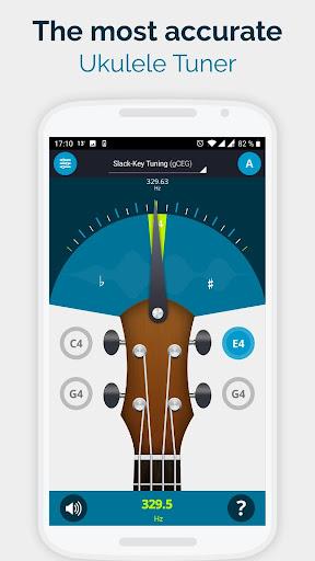 Ukulele Tuner Pocket - The Ukelele Tuner App android2mod screenshots 1
