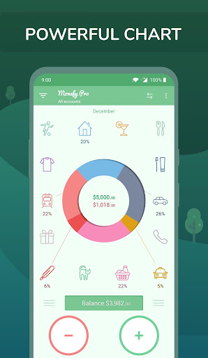 Download APK: Monefy Pro – Money Manager v1.11.1 build 2181 [Paid]