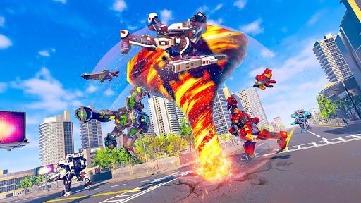 Tornado Robot Car Transform: Hurricane Robot Games 1.0.5 Screenshots 13