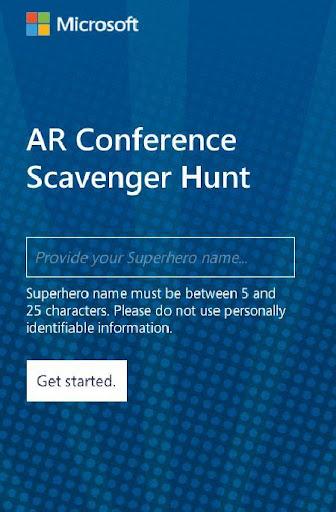 AR Conference Scavenger Hunt 2 Screenshots 1
