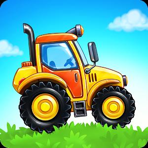 Farm land and Harvest  farming kids games