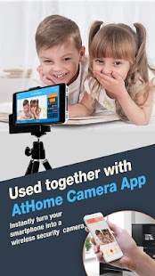 AtHome Video Streamer-turn phone into IP camera Screenshot