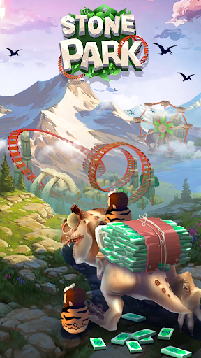 Stone Park: Prehistoric Tycoon - Idle Game  screenshots 1