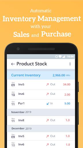 Simple Invoice Manager - Invoice Estimate Receipt apktram screenshots 6