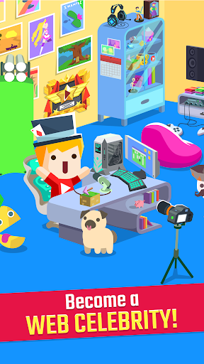 Vlogger Go Viral: Streamer Tuber Idle Life Games  screenshots 2