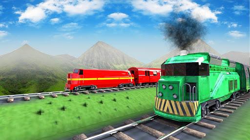 train vs train racing simulator screenshot 1