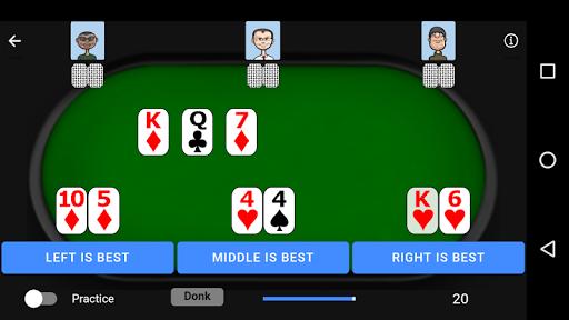Poker Trainer - Poker Training Exercises 3.1.8 screenshots 5