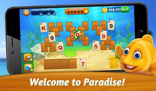 Solitaire Paradise: Tripeaks apktram screenshots 6
