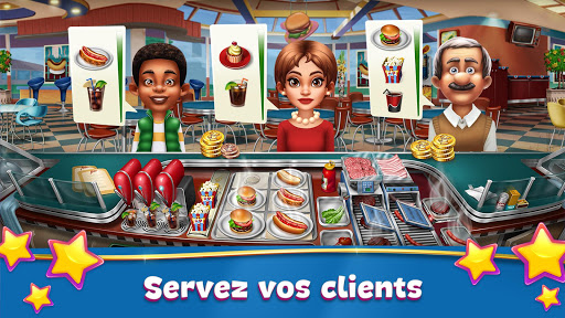 Code Triche Cooking Fever APK Mod screenshots 1
