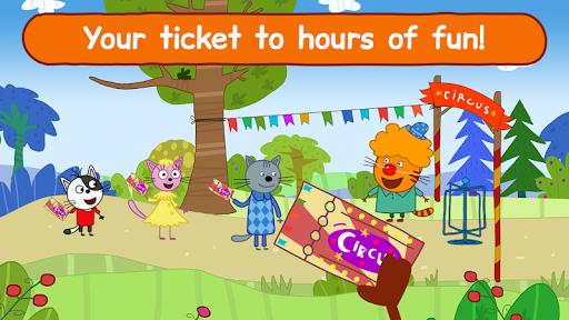 Kid-E-Cats Circus Games! Three Cats for Children  screenshots 7