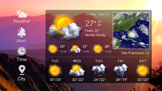 Real-time weather forecasts 16.6.0.6365_50185 Screenshots 10