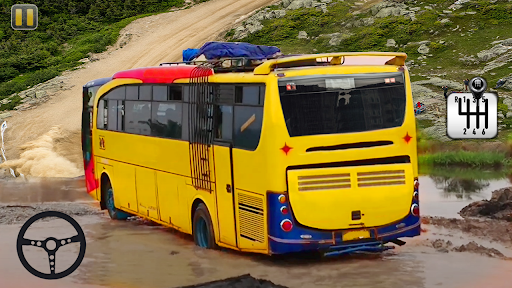 Coach Bus Simulator Offroad Driving 2021  screenshots 1