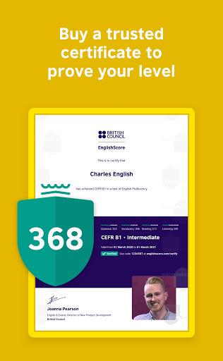 EnglishScore: Free British Council English Test 2.0.18 Screenshots 4