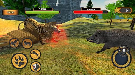Angry Flying Lion Simulator 2021 screenshots 5