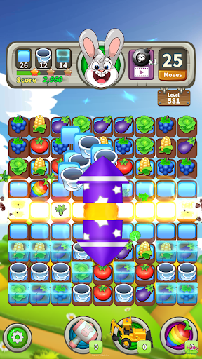 Farm Raid : Cartoon Match 3 Puzzle  screenshots 3