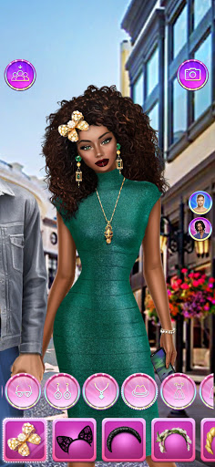 Celebrity Fashion Makeover - Dress Up Games 1.1 screenshots 3