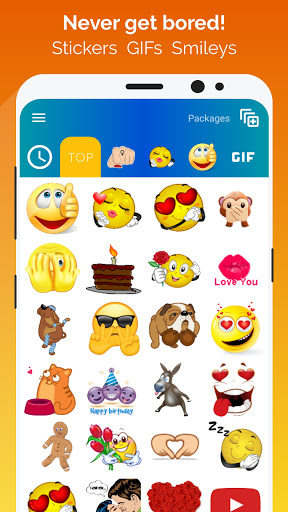 WhatSmiley - Smileys, Stickers & WAStickerApps android2mod screenshots 1