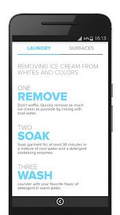 Clorox® myStain™ App