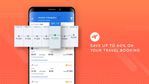 Goibibo - Hotel Car Flight IRCTC Train Bus Booking 10.4.3 screenshots 6