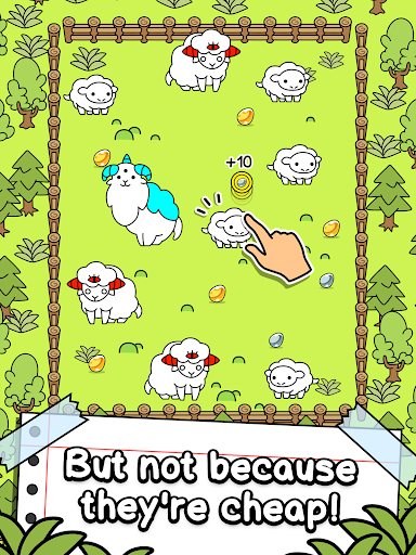 Sheep Evolution - Merge and Create Mutant Lambs screenshots 10