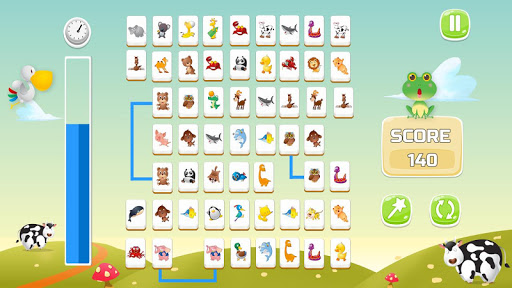 Connect Animals : Onet Kyodai (puzzle tiles game)  screenshots 3