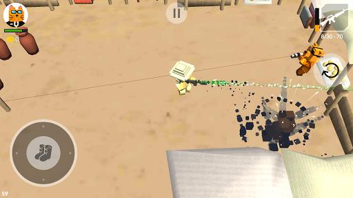 Cats vs Dogs - 3d Top Down Shooter & Pixel War  screenshots 3