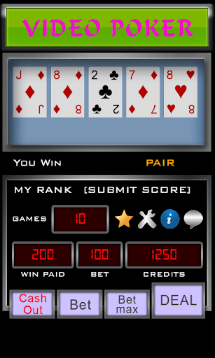 Video Poker 3.3.7 screenshots 3