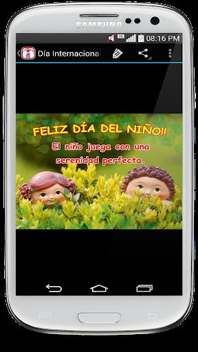 Frases para Feliz du00eda del Niu00f1o screenshots 2
