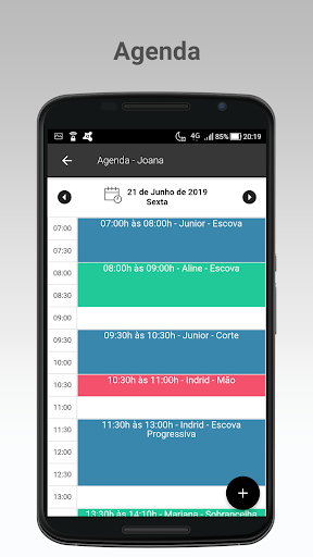 Salon Soft - Agenda e Sistema para Salu00e3o de Beleza 2.4.8 Screenshots 1