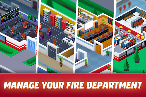 Idle Firefighter Tycoon - Fire Emergency Manager 0.14 screenshots 10