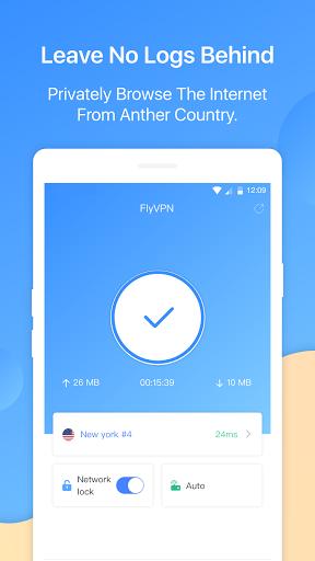 FlyVPN - Secure & Fast VPN screen 0