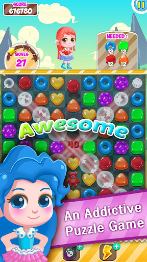 Candy Sweet Pop  : Cake Swap Match 1.6.8 screenshots 6