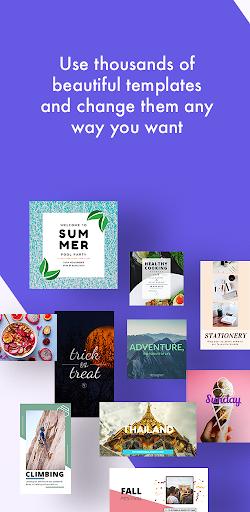 Desygner: Free Graphic Design Maker & Editor android2mod screenshots 3