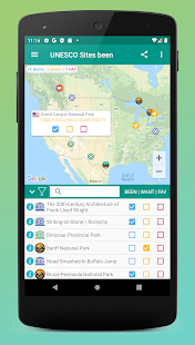 Places Been - Travel Tracker & Visited Places Map Screenshot