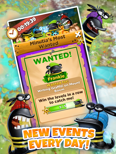 Best Fiends - Free Puzzle Game apkpoly screenshots 10