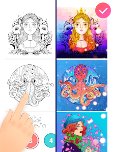 Magic Paint - Color by number & Pixel Art 0.9.24 Screenshots 22