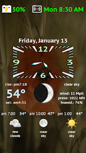 Weather Night Dock PRO Screenshot