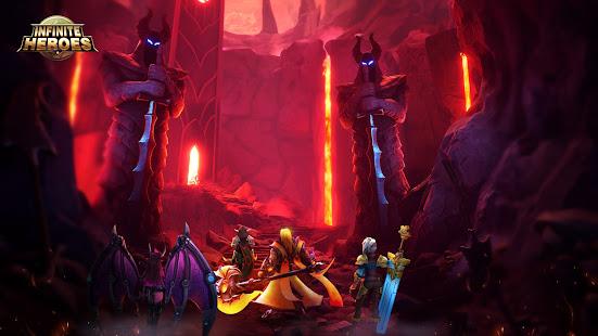 Infinite Heroesuff1aldle RPG game screenshots 3